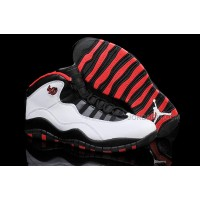 "Air Jordans 10 Retro ""Chicago"" 45 PE White/Varsity Red-Black For Sale Free Shipping"