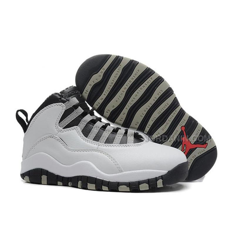 """USD  85.00. Air Jordans 10 Retro """"Steel"""" Shoes For Sale Free Shipping ... 5f912c46081e"""
