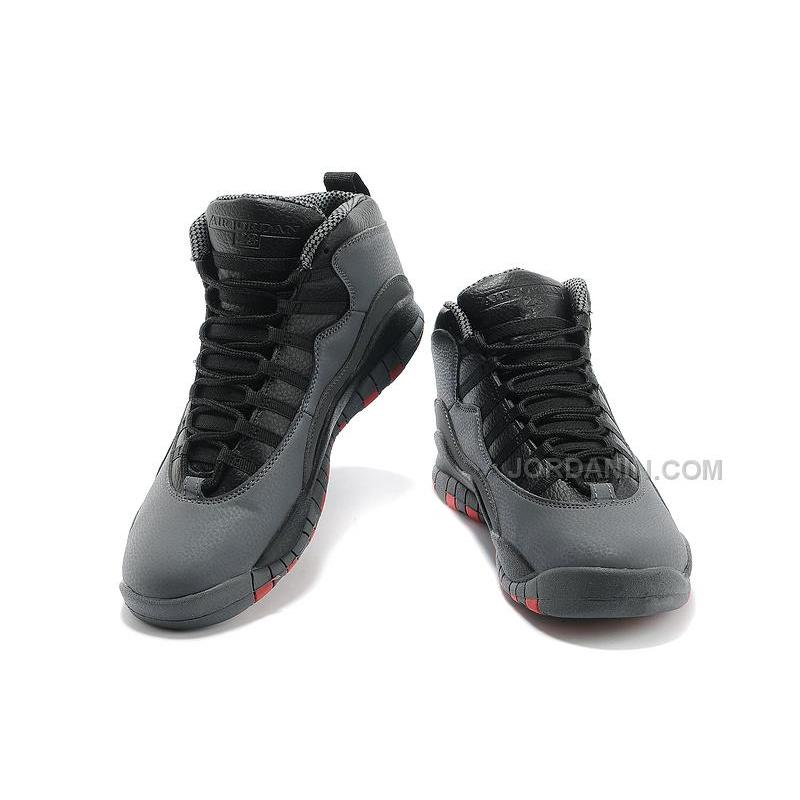 d8595b6ce18fb2 ... Air Jordans 10 Retro Cool Grey Infrared-Black For Sale Free Shipping ...