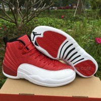 Men Basketball Shoes Air Jordan XII Gym Red AAAA 268 New Arrival