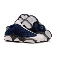 New Air Jordans 13 Low French Blue/University Blue-Flint Grey