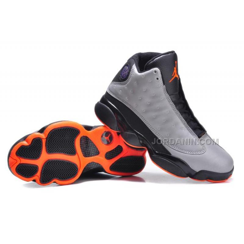 "ac7b4c9458 ... Air Jordans 13 Retro ""3M Reflective"" Reflective Silver/Infrared 23-Black  New ..."