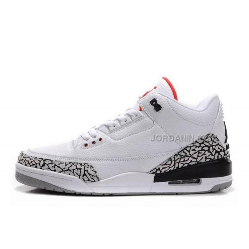best loved 8f913 dc84a USD  88.00. Air Jordans 3 Retro White Fire ...