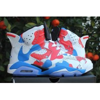 "Air Jordans 6 ""American Heroes"" Custom For Sale Online New"