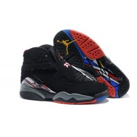 "Air Jordans 8 Retro ""Playoffs"" Black/True Red-White For Sale Free Shipping"