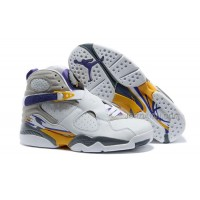 "Air Jordans 8 Retro ""Kobe Bryant Lakers Home"" PE For Sale Free Shipping"