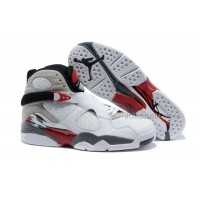 "Air Jordans 8 Retro ""Bugs Bunny"" White/Black-True Red For Sale Free Shipping"