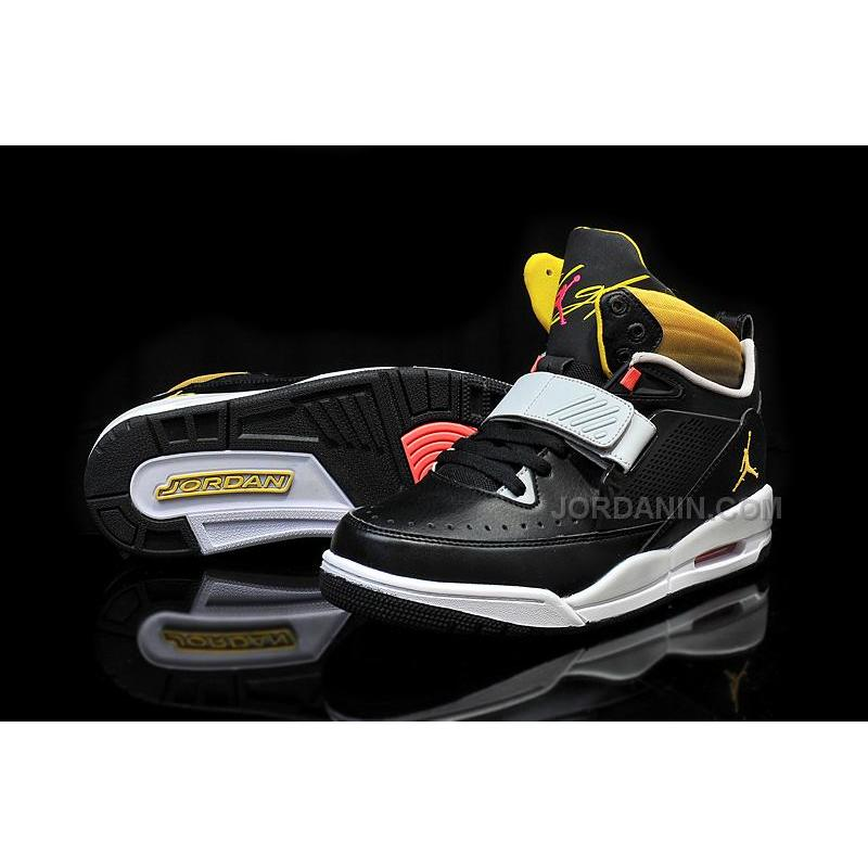 082f29731c17 Jordan Flight 97 Black Vibrant Yellow-Pure Platinum For Sale Online ...