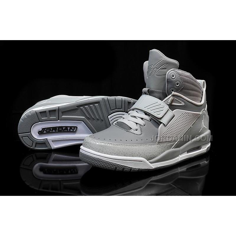 53325e75e05a USD  92.00. Jordan Flight 97 Cool Grey Wolf White Shoes For Sale Online Hot  ...