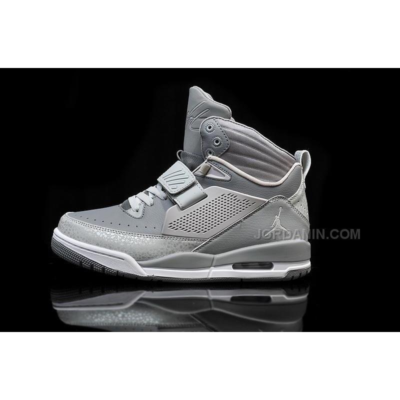 a59af3bcc0a3 Jordan Flight 97 Cool Grey Wolf White Shoes For Sale Online Hot ...