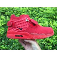 Men Basketball Shoes Nike Air Trainer Cruz Red October AAAA 238 New Arrival