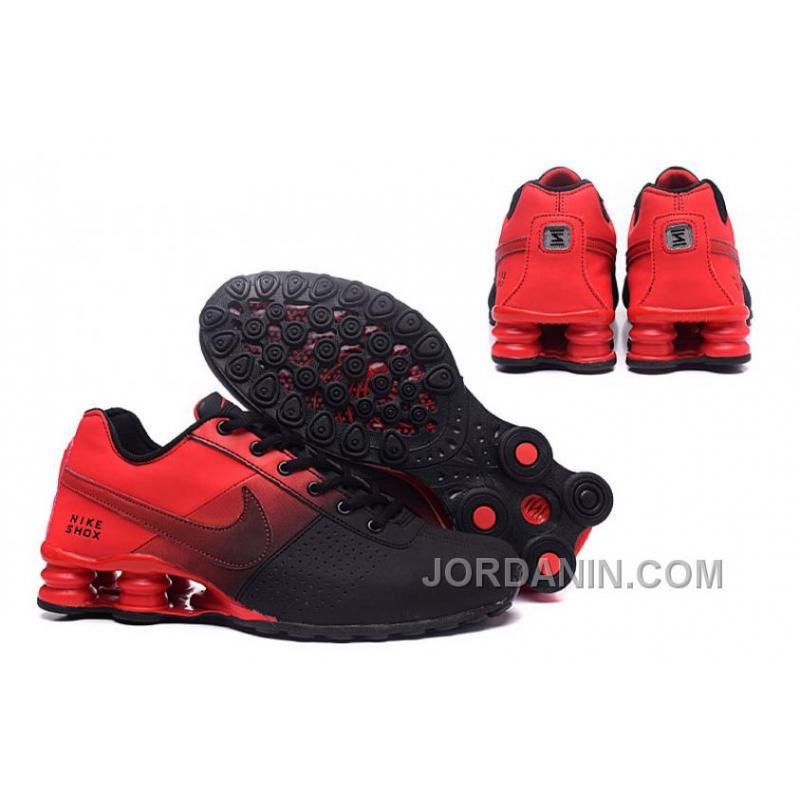 innovative design c7037 5ab84 ... NIKE SHOX DELIVER 809 Red Black Authentic .