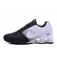 Men Shox Deliver Black White Cheap To Buy