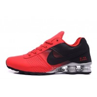Men Shox Deliver Red Black Cheap To Buy