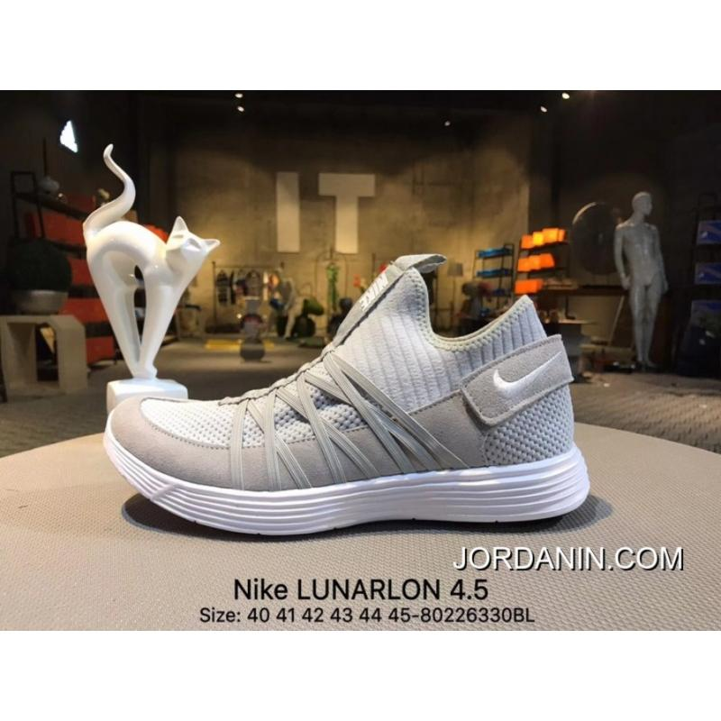 online store fe026 c8516 ... Nike LUNARLON 4.5 Spring New Casual Jogging Shoes 852645 001  Size-80226330BL Free Shipping ...