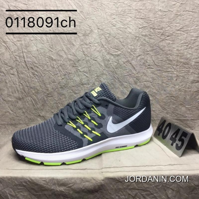 68f65bfb24f11 USD  95.77  277.75. Nike Run Swift FLYKNIT Run Series Gray Green Outlet ...