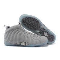 """2015 Nike Air Foamposite One PRM """"Grey Suede"""" Wolf Grey-White For Sale"""
