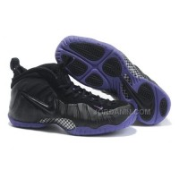 Nike Air Foamposite Pro Black Varsity Purple Discount