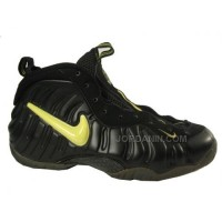 Nike Air Foamposite Pro Black Voltage Yellow Black 630304-071 For Sale Discount
