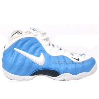 Nike Air Foamposite Pro Blue White 624041-411 Discount