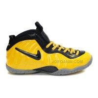 New Nike Air Foamposite Pro Yellow Black