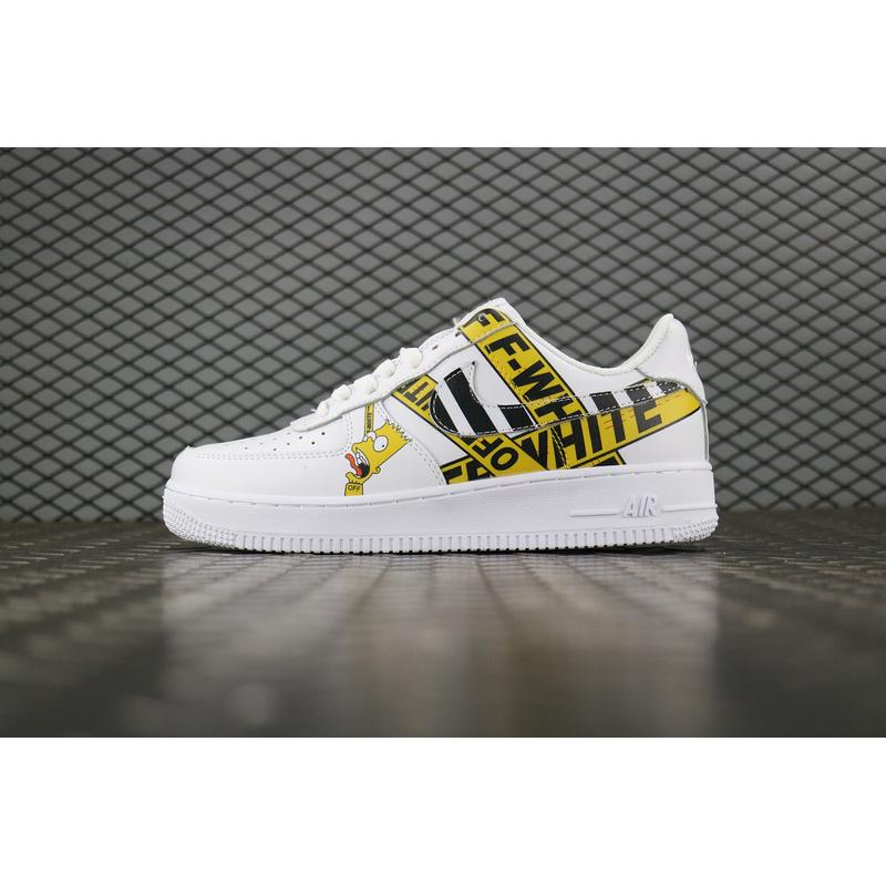 Nike Air Force 1 7 OFF-WHITE To Be Publishing One Special Simpson To Be ... e5fff6e73fc8