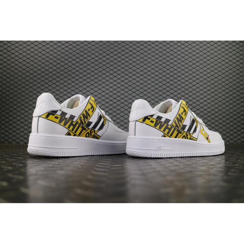 bee7eda3de54 ... Nike Air Force 1 7 OFF-WHITE To Be Publishing One Special Simpson To Be  ...