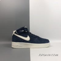 Women/Men Nike Air Force 1 Mid One Mid Top Casual Sneaker AA1118-007 Where To Buy SKU:125044-579