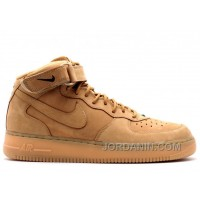 Top Deals Air Force 1 Mid 07 Prm Qs Flax Sale Darn6X