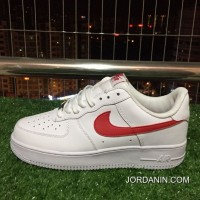 Copuon Nike Air Force One Af1 Red White Culture Shoes Couple 315123-126