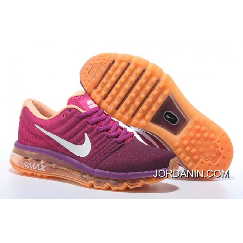 low priced fc322 a8921 USD  75.43  218.74. Nike Air Max 2017 Flyknit Women Orange Purple For Sale  ...