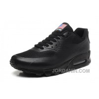 NIKE Air Max 90 Hyperfuse American Flag Black 36-46 Copuon Code