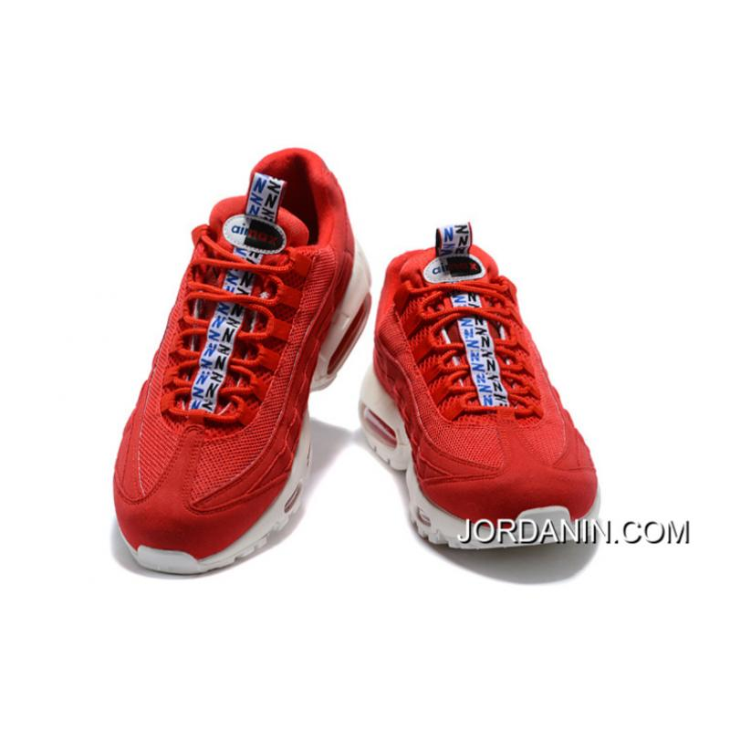 timeless design 4e9da a8dd3 Nike Air Max 95 Tt Zoom Running Shoes Limited Joint Publishing Colorways  Red And White Sku Aj1844-600 Latest