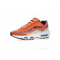 Men Shoes Artist To Be Dave White X The Size Nike Air Max 95 X Zoom Jogging Shoes Cayenne Maroon Red Fox 872640-600 Free Shipping