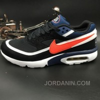 Nike Air Max Premium BW 819523-064 Black Navy Blue Red Copuon Code