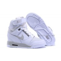 Nike Air Revolution Sky Hi White Grey Sale
