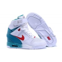 Nike Air Revolution Sky Hi White Blue Pink Sale