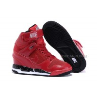 Nike Air Revolution Sky Hi Gym Red Black Sale