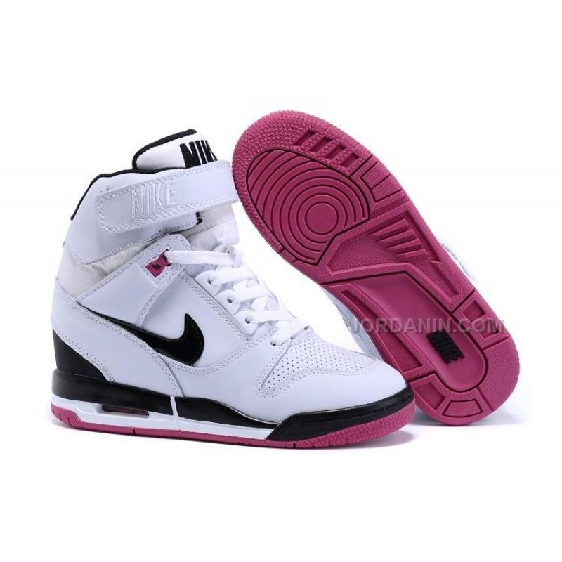 ff75bff9d24a USD  79.00. Nike Air Revolution Sky Hi White Black Pink ...