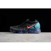 2018 2 Zoom Air Nike Air VaporMax Flyknit Black White Red Cactus Grey Punch 942842-00315 Super Deals