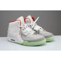 New Nike Air Yeezy 2 Fire Red Wolf Grey Online