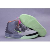 Nike Air Yeezy 2 Bird Of Paradise Grey/Silver/Black For Sale