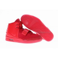 Kanye West New Nike Air Yeezy 2 Red October For Sale