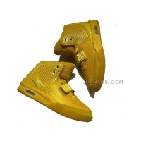 Cheap Kanye West Nike Air Yeezy 2 Tyrant Gold