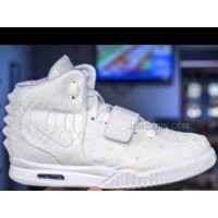 Cheap Nike Air Yeezy 2 Shane Victorino Relevant Customs White Out