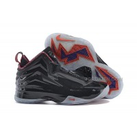 "Nike Chuck Posite Charles Barkley ""Iridescent Gone Fishing"" Black Red For Sale"