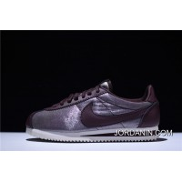 Pure Perfect Order Type Here Hyx61908 Nike Classic Cortez Classic Retro Cortez All-match Jogging Shoes Mercerized Cloth Red Brown Of 905614-900 Online