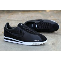 Nike Classic Cortez X LIBERTY Solid Black Authentic
