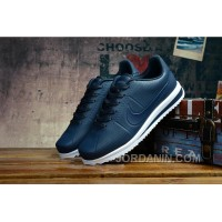 SOLID BLACK NIKE CORTEZ Cheap To Buy