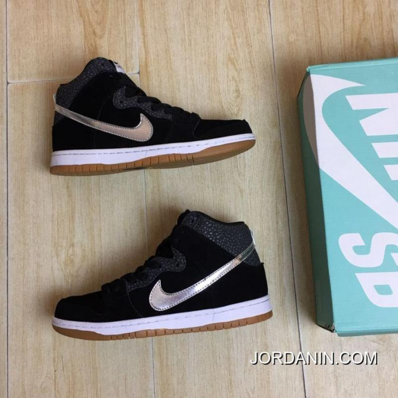 a3b91f1ce661 ... New Style Nike Dunk High PremiumSb Driver Black Siliver 10 High Quality Raw  Materials Air Max ...